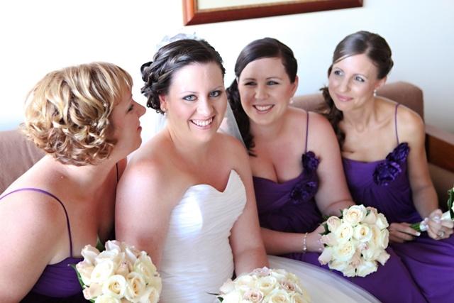 makeup by Makeup 4 Brides.