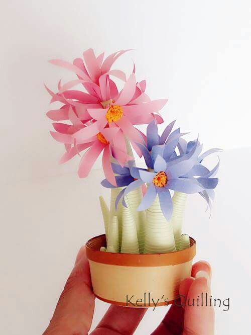 How to make a paper flower pot video yelomdiffusion 89 best quilling flower pots kellys quilling images on pinterest how to make a paper mightylinksfo