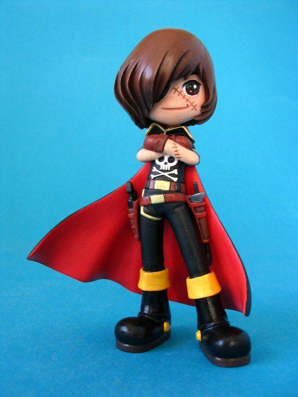 Captain Harlock - Pinky Street Style SD - e2046