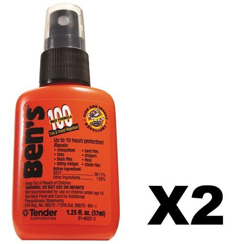Adventure Medical Kits Ben's 100 Tick & Insect Repellent 1.25 oz Pump (Pack of 2)