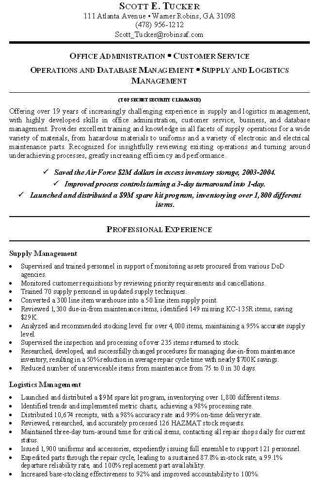 Government Resume Format - http://www.resumecareer.info/government-resume-format-7/