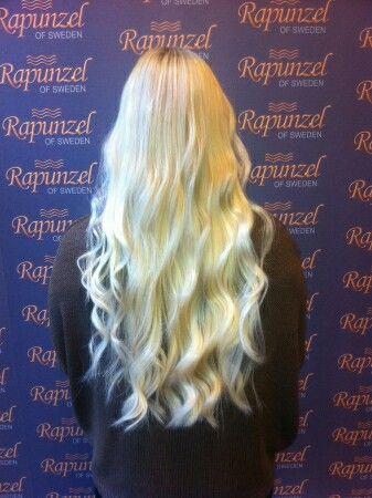 Marque de mes extensions préférées, vraiment belles Rapunzel of Sweden. #Rapunzelofsweden