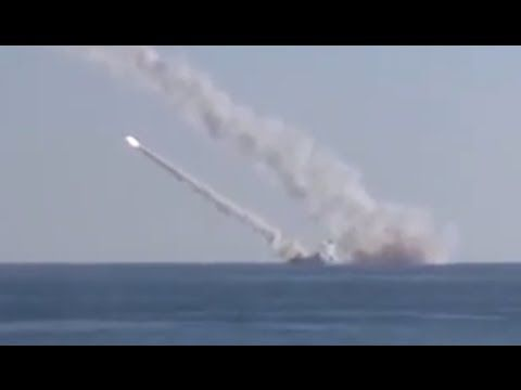 Russia strikes ISIS targets in Syria from sub in Mediterranean for first time (VIDEO) — RT News