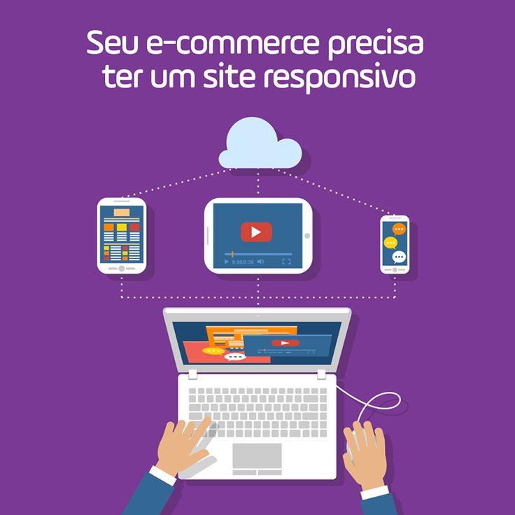 Sabia que 30% dos acessos de um site são feitos por dispositivos móveis? Acompanhe também essa tendência e conheça as vantagens de ter um site responsivo para o seu e-commerce aqui: https://www.siteoncriacoes.com.br   #marketingdigital #marketing #ecommerce #midiassociais #fortaleza #ceara #seo #webdesign #webdesigner #criacaodesites #criatividade