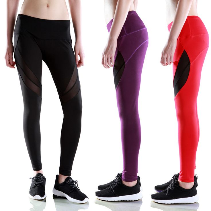 Plus Size Compression Women Leggings Pants Tights Bouncy Quick-drying Breathable Fitness Running Yoga Sport Pants