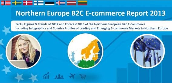 Northern European e-commerce expected to reach 31 billion in 2013, 7.10rowth