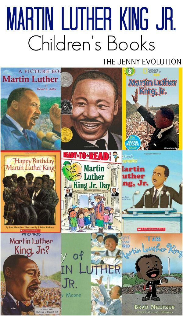 Martin Luther King Jr Books for Kids. Wonderful books to read with your children for Black History Month, too!