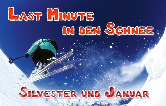 Last Minute an Silvester in den Skiurlaub
