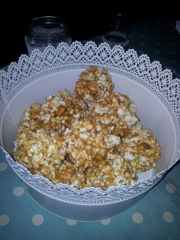 Moenae caramel popcorn