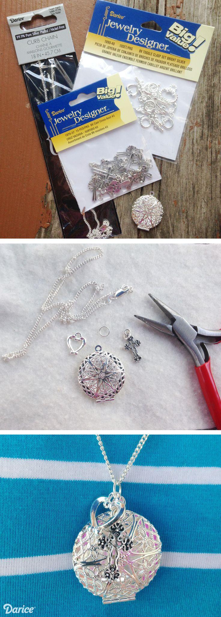 DIY Essential Oil Diffuser Necklaces - Live. Craft. Love.