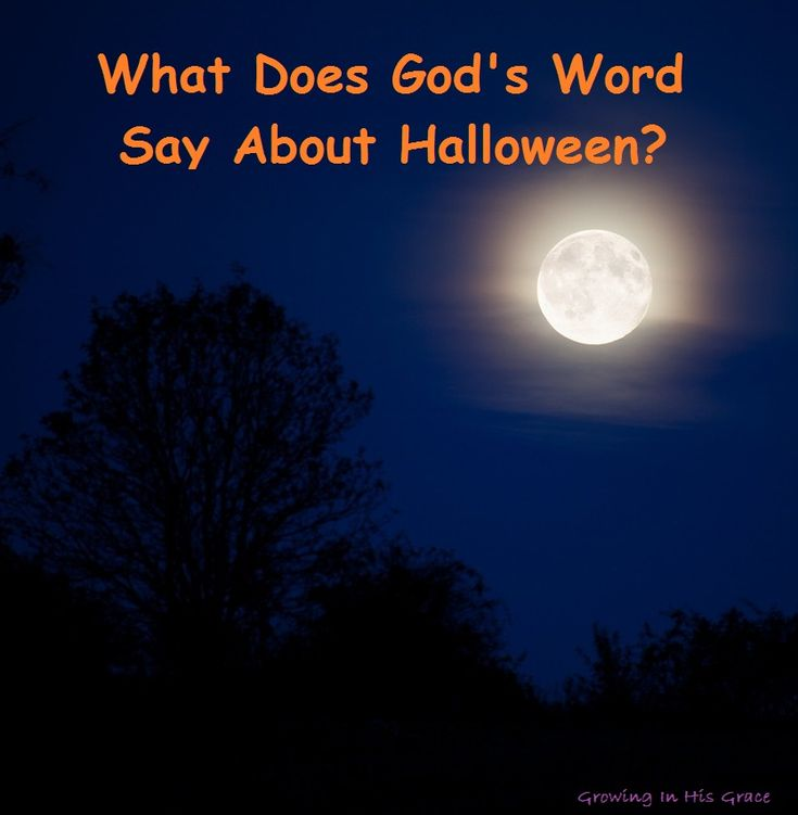What does God's Word say about Halloween?  Do you wonder from year to year if God would disapprove of Halloween?  Or maybe He thinks all those little kids running around dressed up like various animals are the apple of His eye?  He left us some words of advice on the subject in His Words.  Here we discuss some specific verses to decipher what He has to say about the subject.  Part II of the Halloween series on Growing In His Grace.