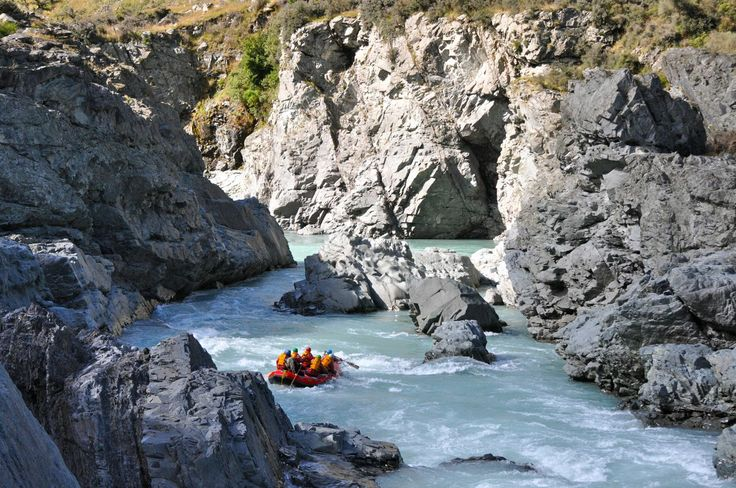 Rafting the RANGITATA RIVER, Canterbury Plains, New Zealand | by Angelene Orth | via angieaway.com