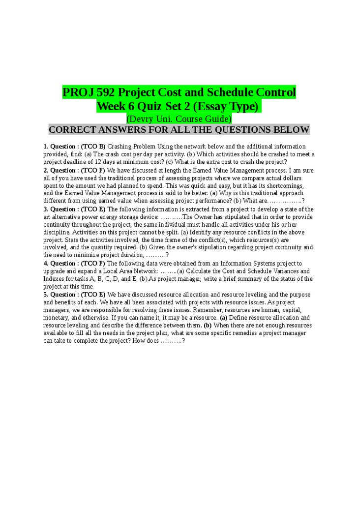 proj 592 course project 2 Read this essay on proj 592 full course project (par 1 and part 2) come browse our large digital warehouse of free sample essays get the knowledge you need in order to pass your classes.