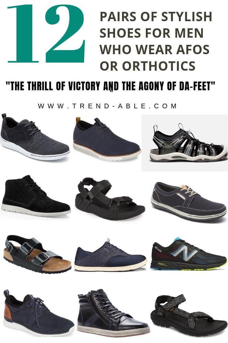 MENS ORTHOTIC DRESS SHOE  ORTHO SANDALS MEN OPTIONS  Dress shoes