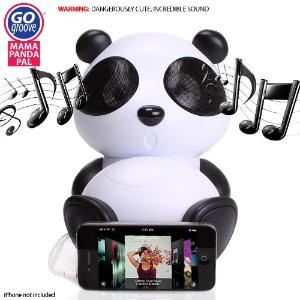 GOgroove Panda Pal Deluxe Portable High-Powered Stereo Speaker System for Smartphones \  Laptops \  MP3 Players  More!Pandas Pals, Mp3 Players, Stereo Speakers, Gogroov Mama, Mama Pandas, Portable High Pow, High Pow Stereo, Deluxe Portable, Speakers System