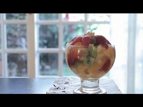 Cómo preparar una ensalada de frutas : Las mejores ensaladas