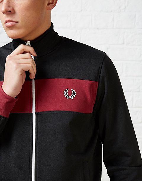 FRESH: Fred Perry Panel Track Jacket #retrosportswear #fredperry
