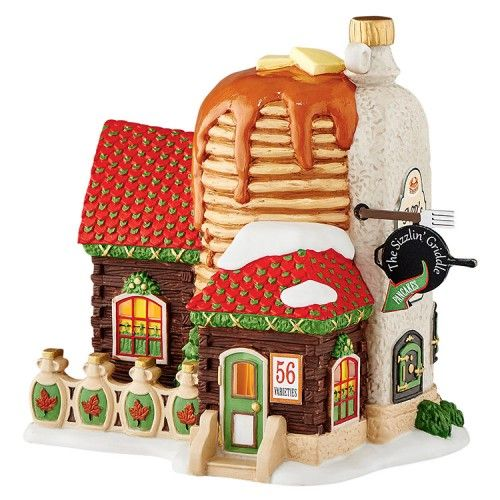 North Pole North Pole Sizzlin' Griddle | Department 56 Villages, Free Shipping on Dept 56