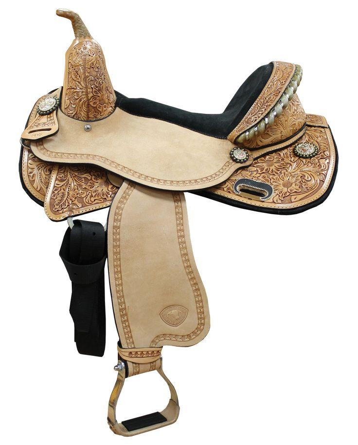 western saddles for sale | Treeless Barrel Saddles
