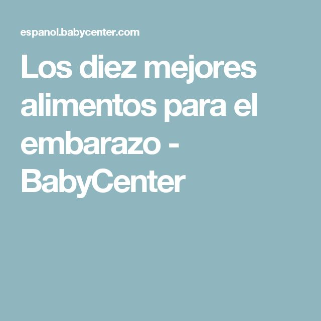 M s de 1000 ideas sobre comidas para el embarazo en pinterest comidas saludables para el - Alimentos buenos en el embarazo ...