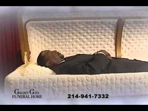 valentine day funeral ad