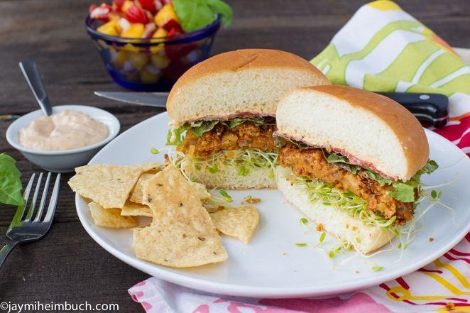 MotherNatureNet Recipe: Southwest chipotle chickpea burgers [It's #meatlessmonday!]