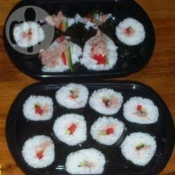 Nori Sushi Roll @ allrecipes.com.au