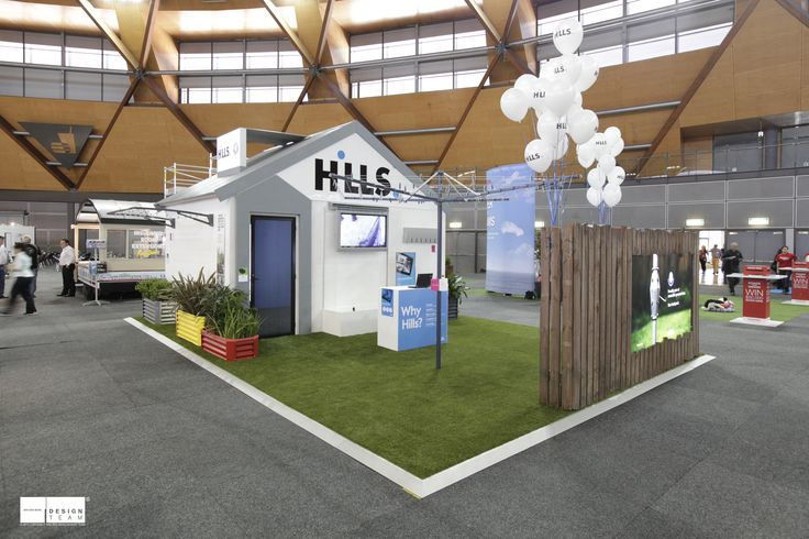 HILLS @ BETTER HOMES & GARDENS In partnership with Banjo Advertising we developed this ultimate Australian stand, incorporating all the iconic elements that Hills Industries are known for contributing to Australian society.A great way of introducing their latest products within the same iconic light to the general public.