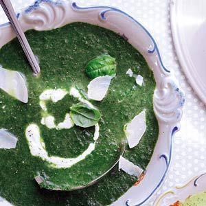 Recept - Spinaziesoep - Allerhande