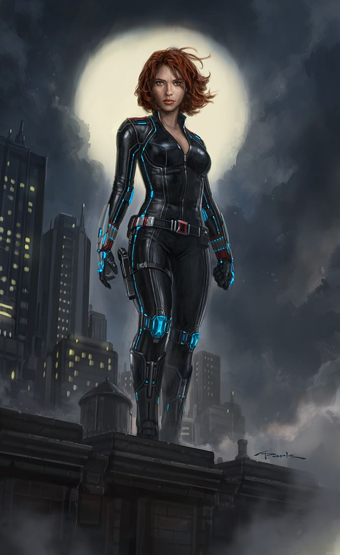 Andy Park Art - AVENGERS: AGE OF ULTRON  Wow. My wife. She is so beautiful and I love her.