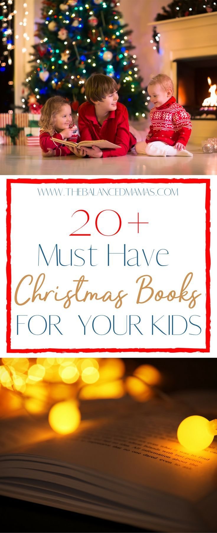 The holidays are a perfect time to create some new family Christmas traditions. What better way than picking up a few Christmas books for kids and start making memories today! Family Christmas traditions to start | Family Christmas traditions for Kids | Christmas books for kids toddlers | Christmas books for kids activities | Christmas books for kids holiday traditions | Best Christmas books for kids via @thebalancedmamas