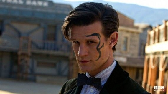 Great picture from A Town Called Mercy :): Timelord, The Doctor, Doctor Who, Doctors, Face Tattoo, Dr. Who, Matt Smith