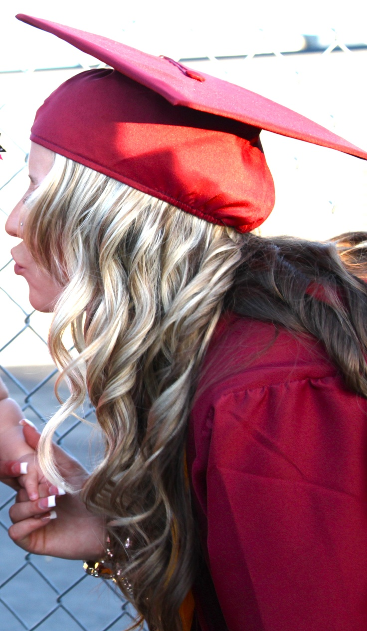 Rock The Cap And Gown Graduation Hair Women Beauty