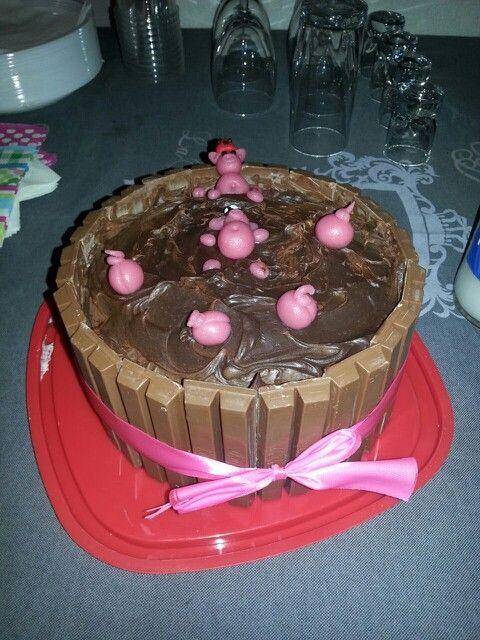Varkentjes taart