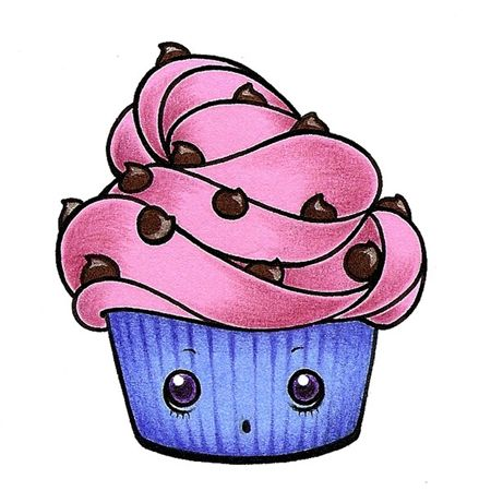 Dessin trop chou recherche google dessins pinterest - Dessin cupcake ...