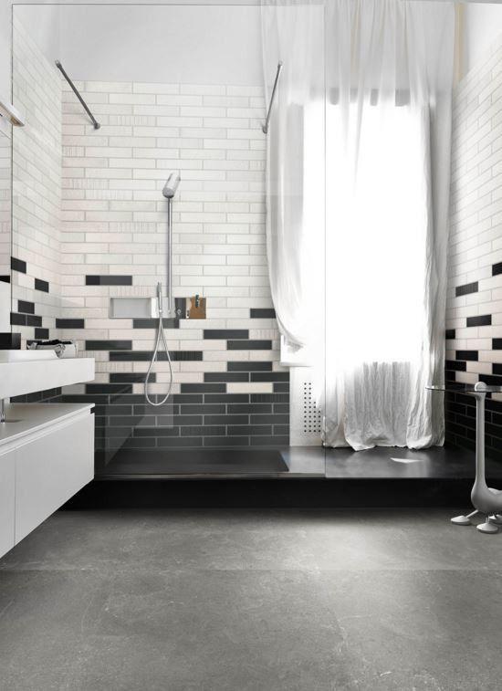 Superb  Emilceramica Brick Design Moka x cm KA Feinsteinzeug Cotto Effekt