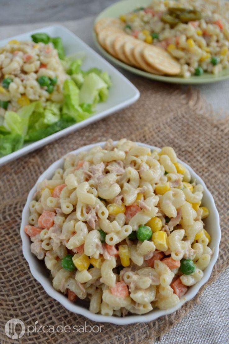 Ensalada de coditos con at n recipe macaroni tuna and - Ensalada de arroz con atun ...