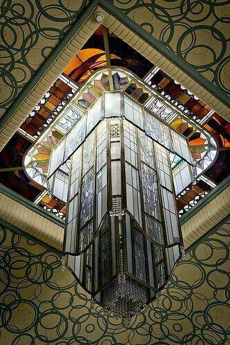 Lanterne de Jacques Simon Bibliothèque Carnegie de Reims