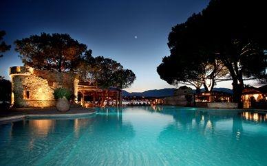 Hotel le Belvedere. Great location in Corsica