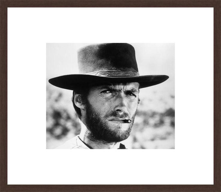 Clint Eastwood - Sergio Leone - Schilderijen, fotografie, fotokunst online bij LUMAS