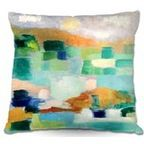 Pillow Woven Poplin by Danny Phillips Playing Hooky - Contemporary - Bed Pillows And Pillowcases - by DiaNoche Designs