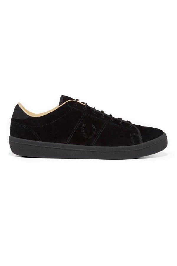 Exhibition Black Champagne Tennis Shoe B2