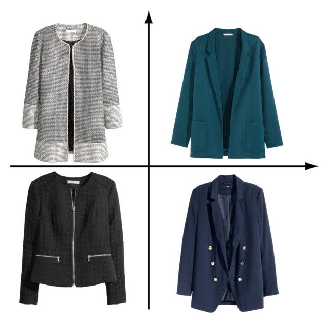 """""""Fall jackets"""" by girlie-contrast on Polyvore featuring H&M"""
