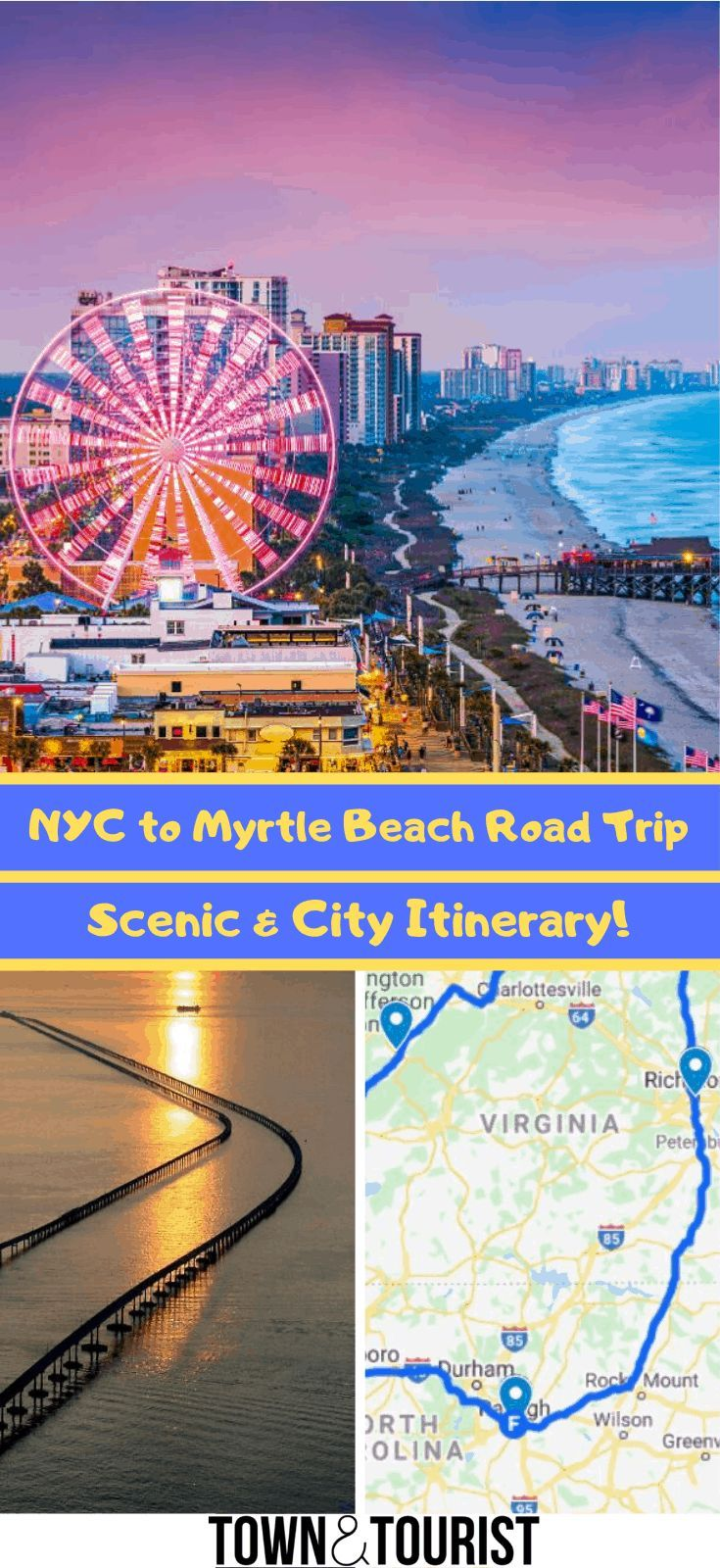 Myrtle Beach Road Trip Itinerary