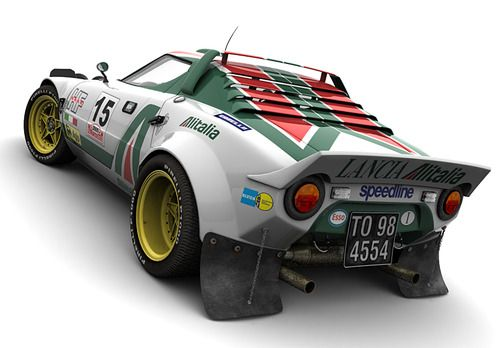 Stratos - Group B Lancia beast - too cool!