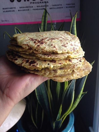 """Paleo """"corn"""" tortillas that look, taste, and feel like the real thing."""