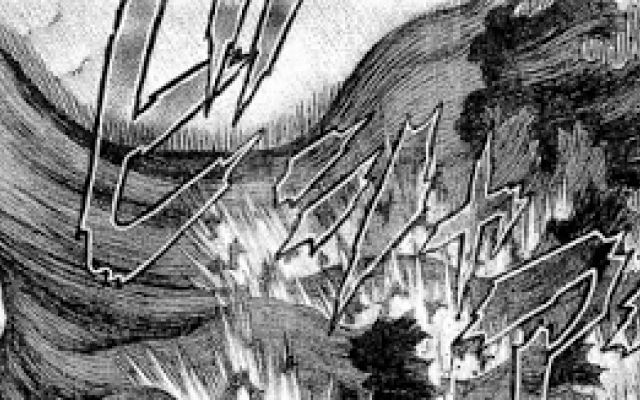 Berserk episodio 400 - spoiler Continuano le vicende di Rickert, salvatosi dall'intervento di Shilat e i Tapasa. Rakshas ha giurato di tornare, e nottetempo prepara il suo agguato mortale per colpire il ragazzo. Ma Rickert e gli  #berserk #kentaromiura #fantasy #manga