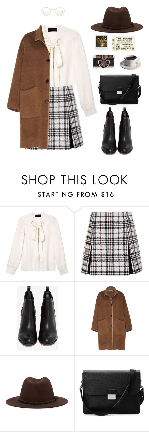 """""""Autumn"""" by annafranny ❤ liked on Polyvore featuring Derek Lam, Carven, Rochas, Forever 21, Aspinal of London, Oliver Peoples and 60s"""