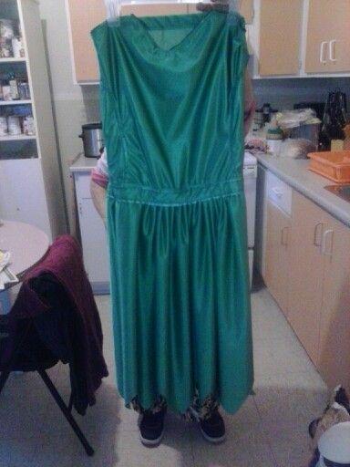 Derrière de robe de fée clochette modifié