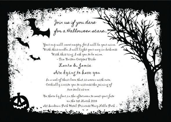 The 25+ best Halloween invitation wording ideas on Pinterest - halloween invitation template